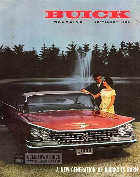 Buick Magazine September 1958