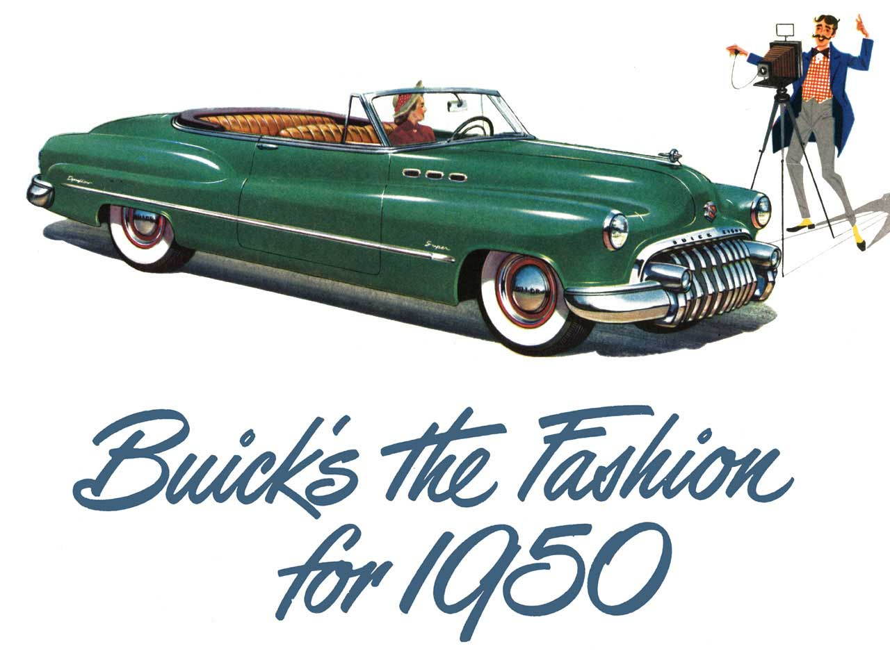 1950 Buick - Buicks the Fashion for 1950
