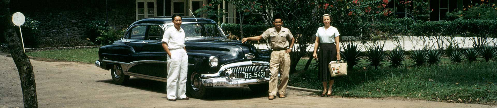 1951 Buick Banner