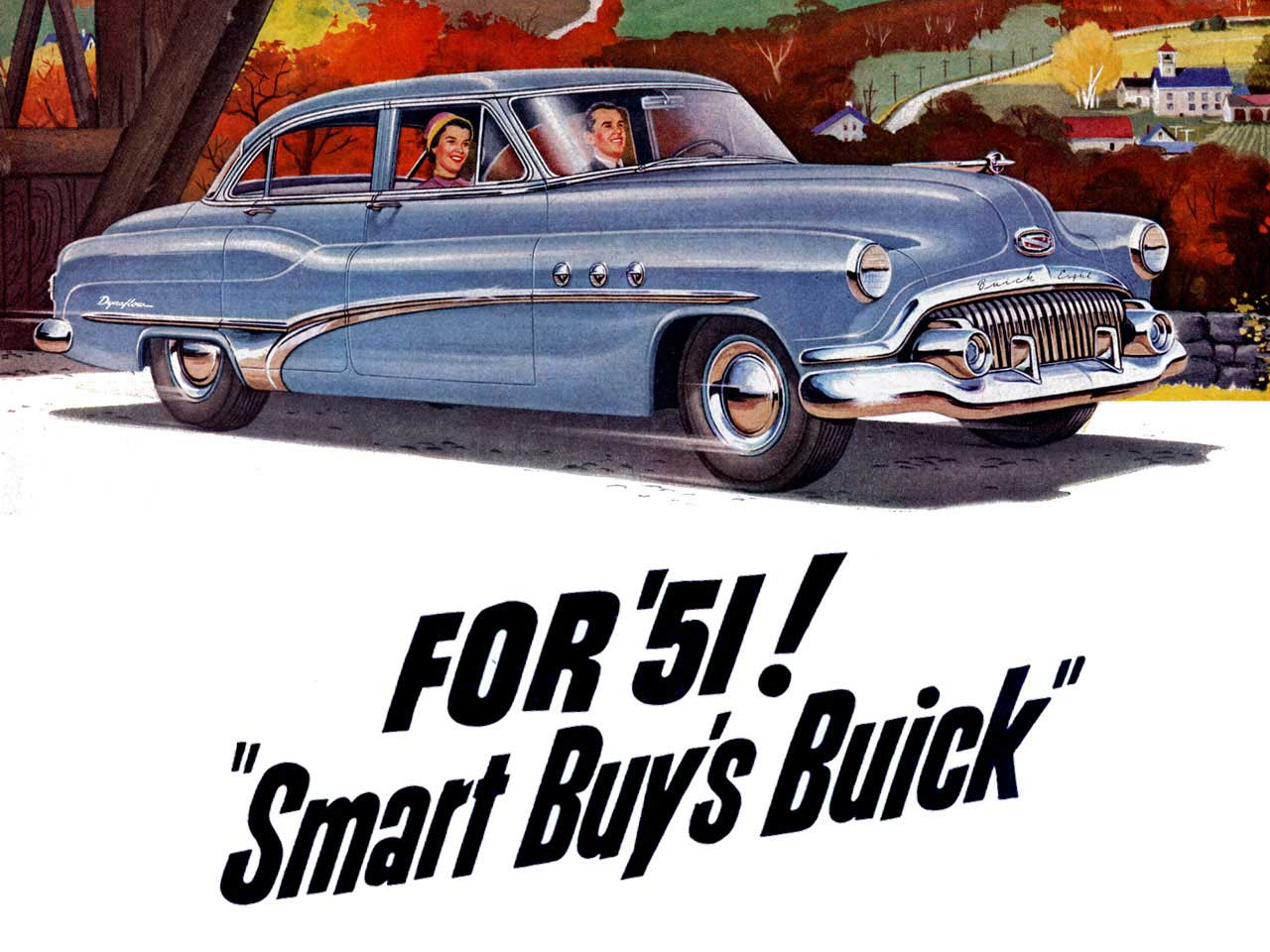 1951 Buick - For 51 Smart Buys Buick