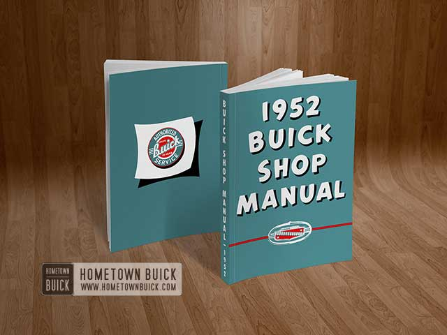 1952 Buick Shop Manual - 01