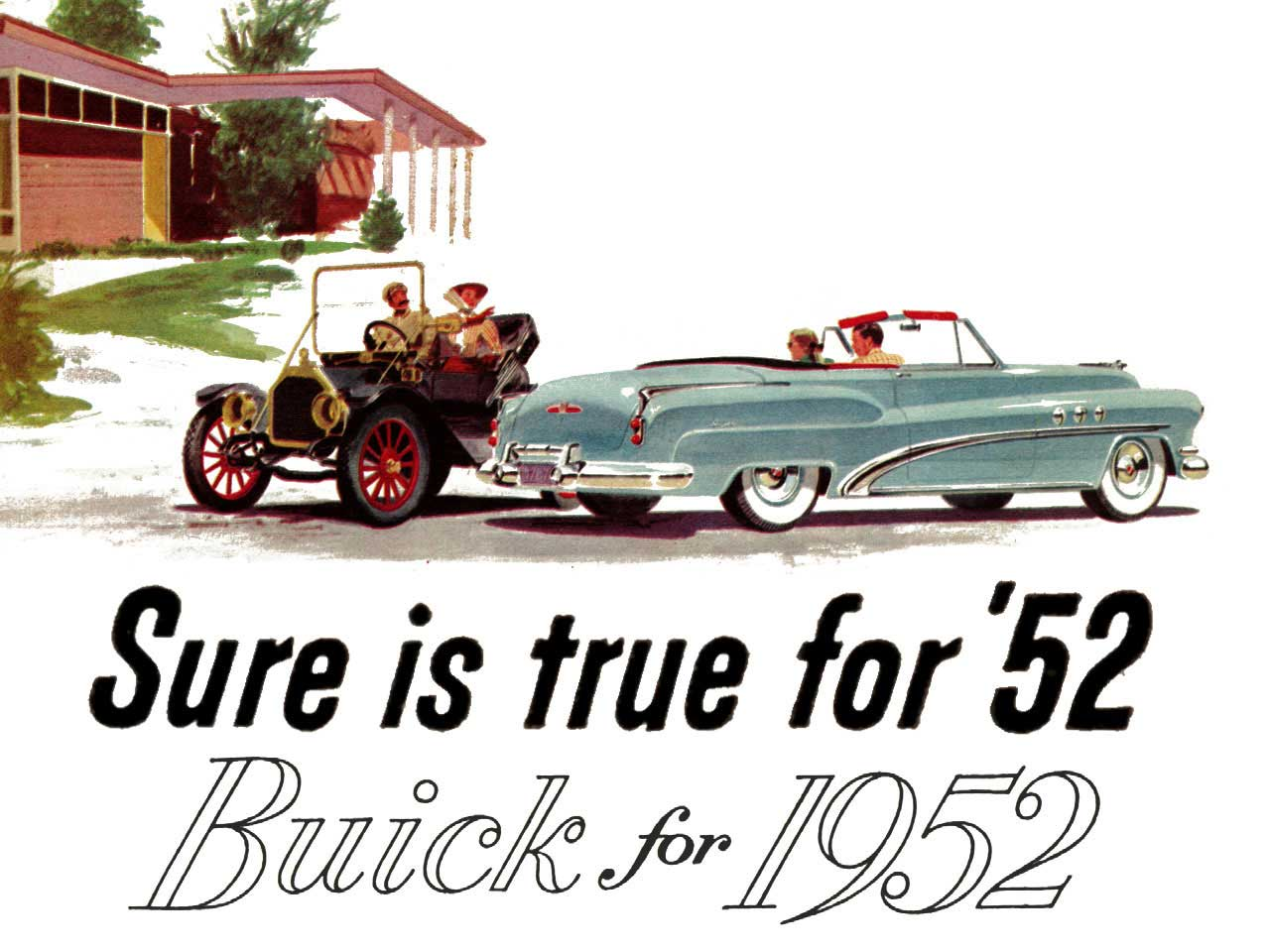 1952 Buick - Sure is True for 52