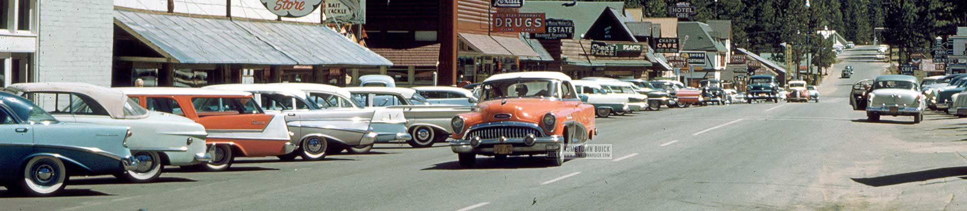 1953 Buick Banner