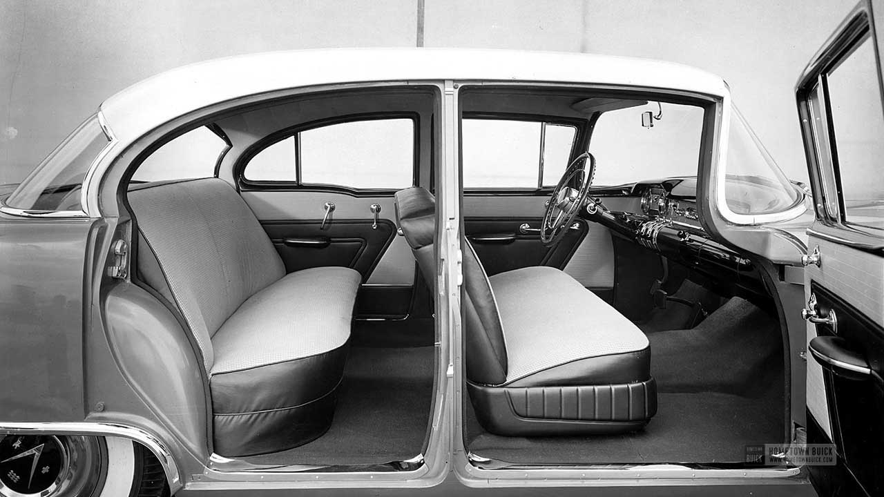 1954 Buick Interior View