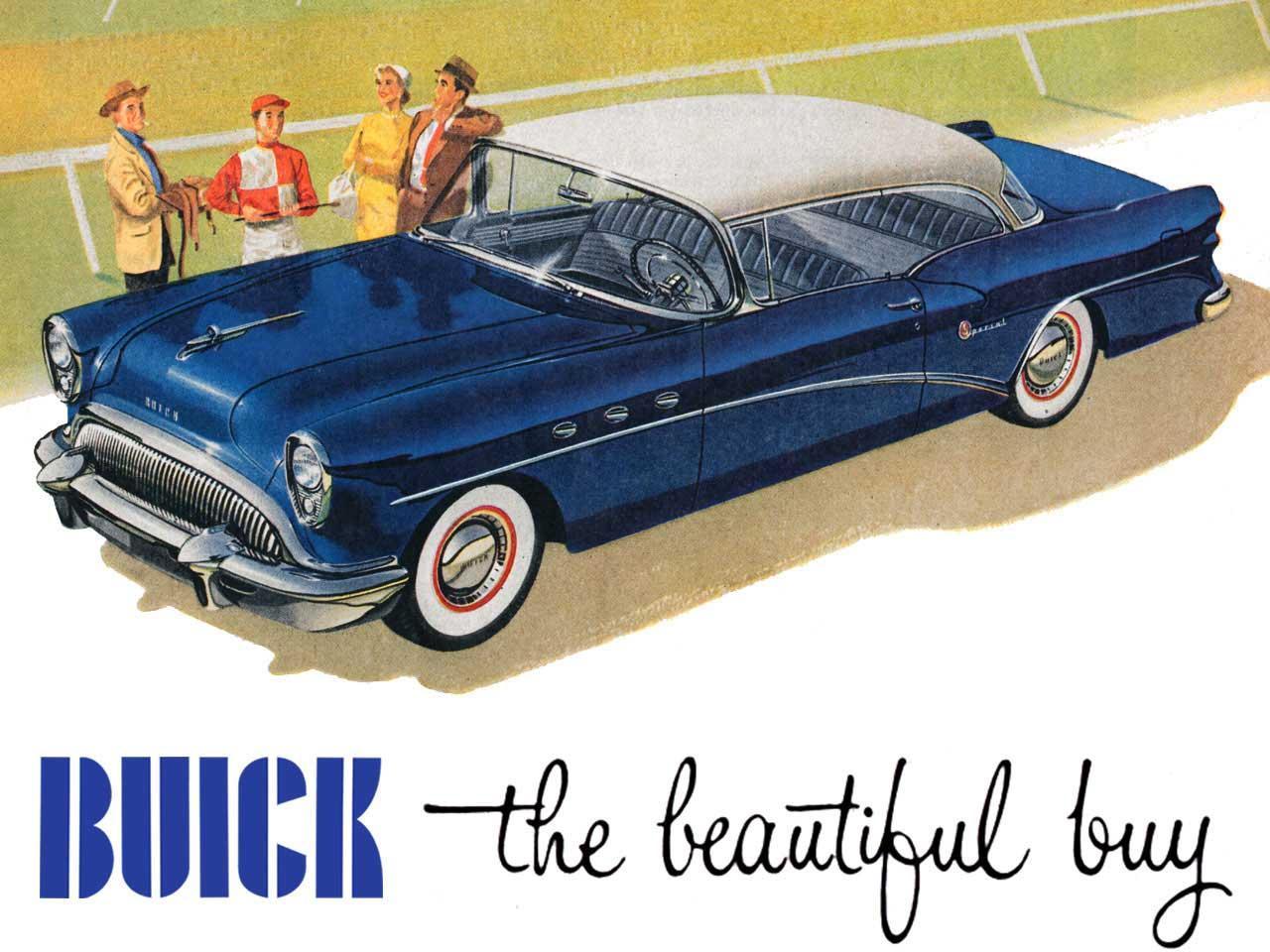 1954 Buick - The Beautiful Buy