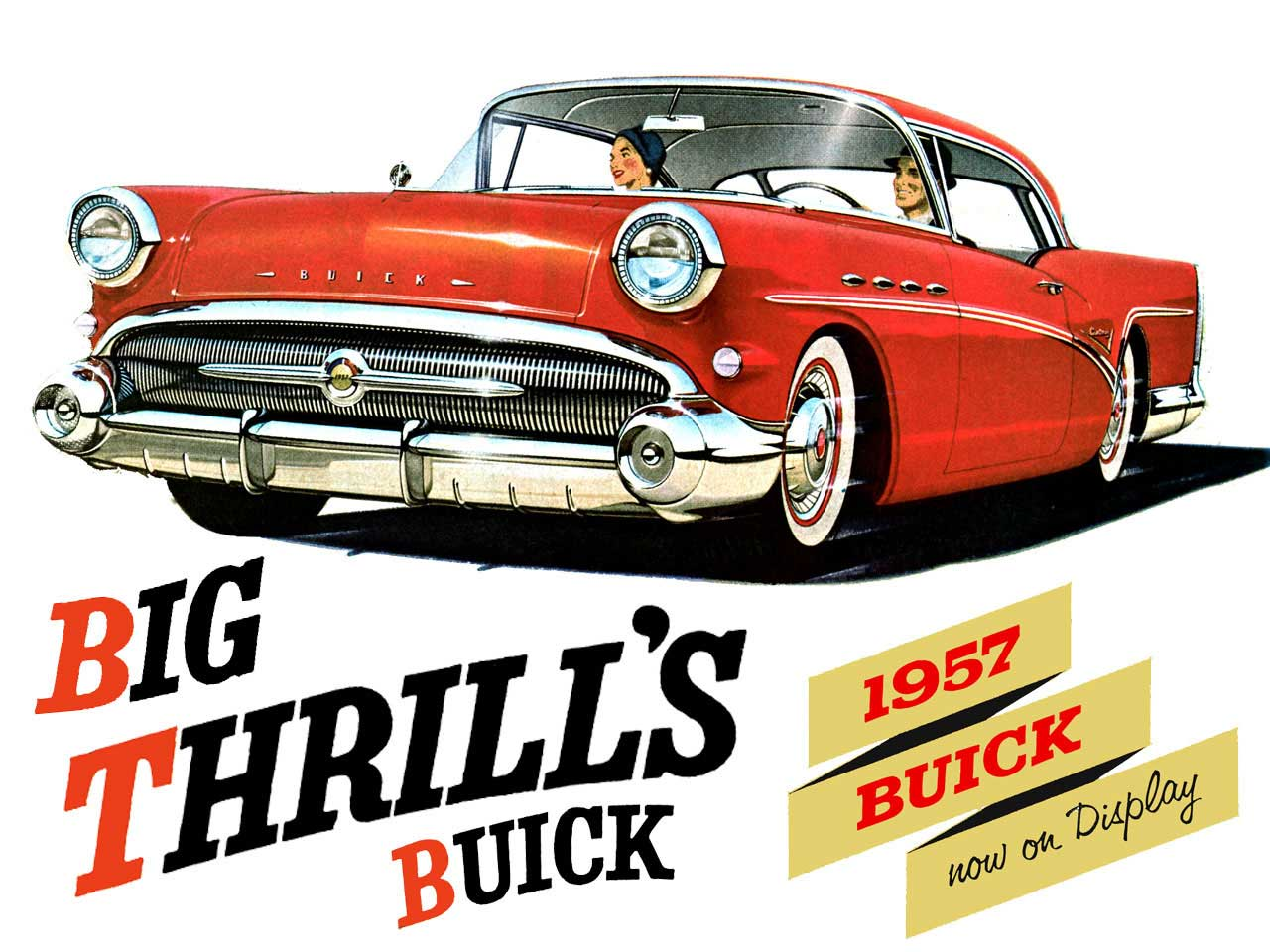 1957 buick owners guide hometown buick1957 buick big thrills buick