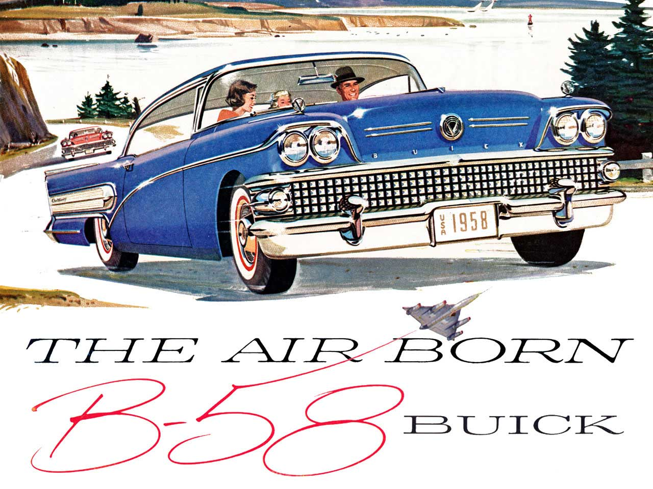 1958 Buick - The Air Born B-58 Buick