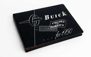 1950 Buick Colors & Fabrics Book 01
