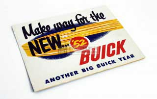 1952 Buick Announcement Material Brochure 01