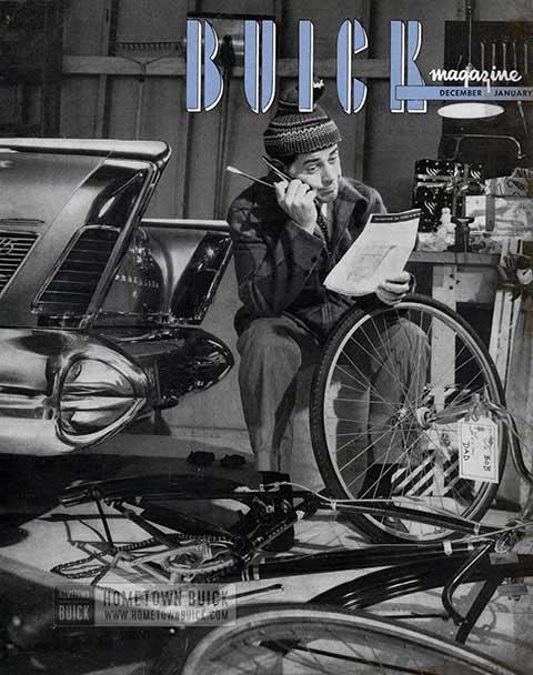 Buick Magazine December 1957, January 1958