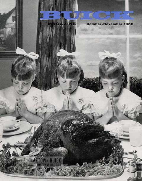 Buick Magazine October, November 1958