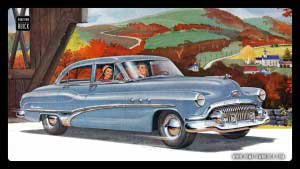 1951 Buick Wallpaper 02