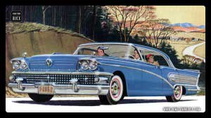 1958 Buick Wallpaper 02