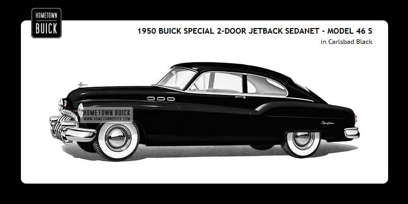 1950 Buick Coloring Tool