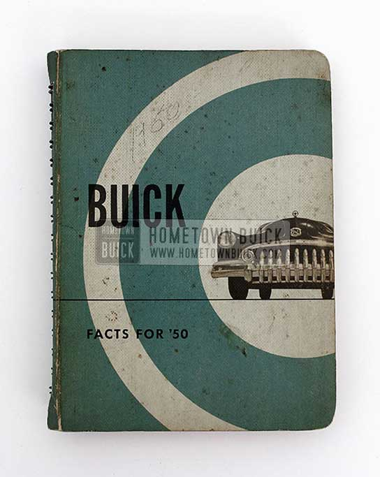 1950 Buick Dealer Facts Book