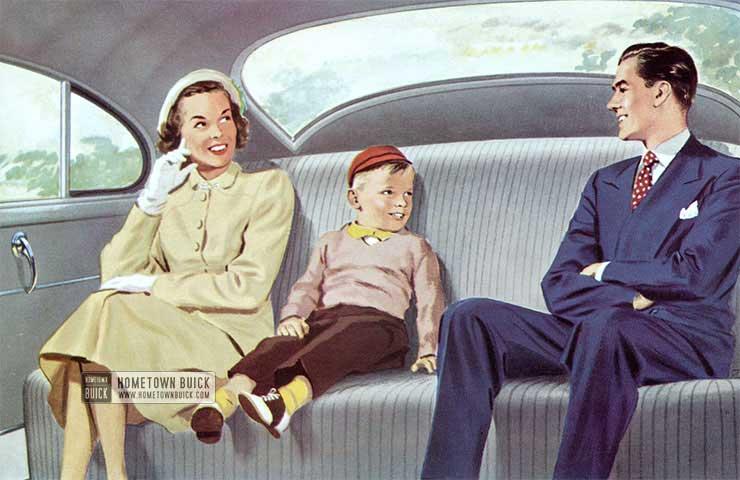 1950 Buick Interior
