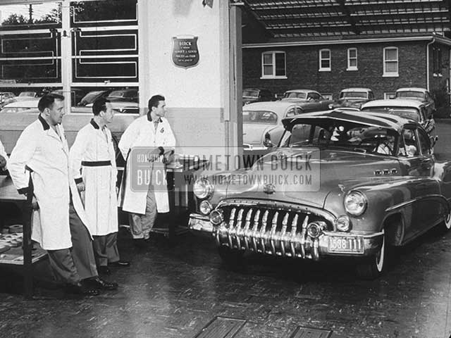 1950 Buick Production