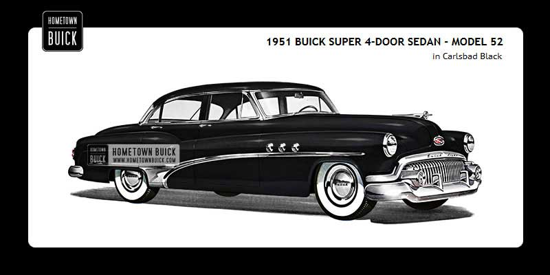 1951 Buick Coloring Tool
