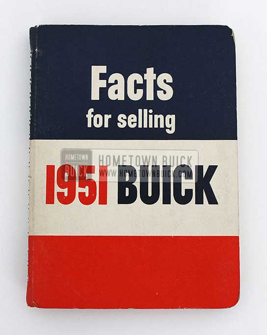 1951 Buick Dealer Facts Book