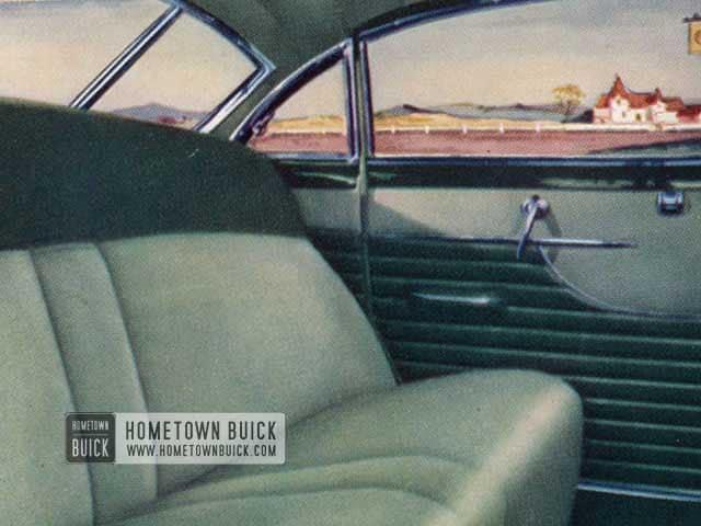 1951 Buick Interior