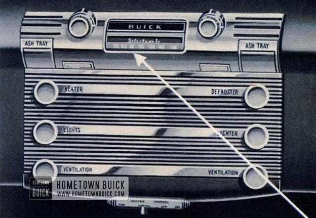 1951 Buick Selectronic Radio