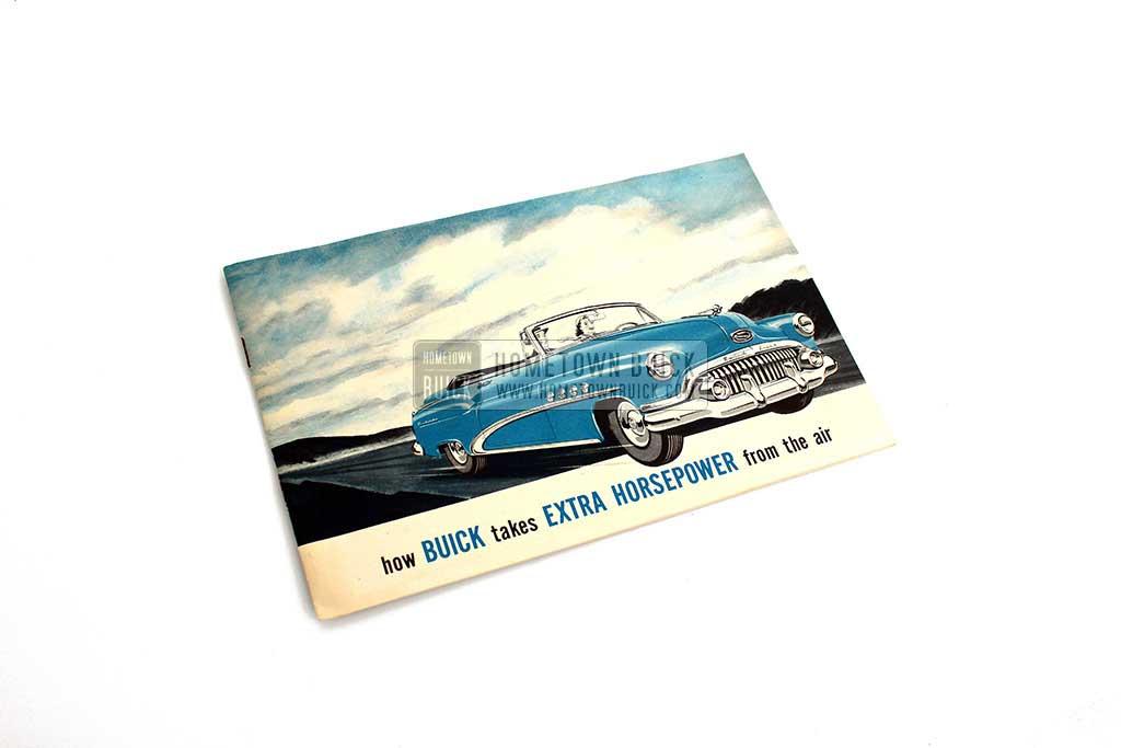 1952 Buick Airpower Carburetor Brochure 01