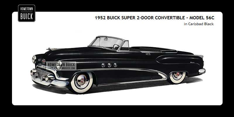 1952 Buick Coloring Tool