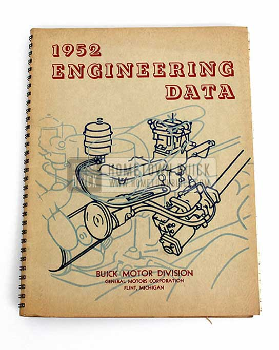 1952 Buick Engineering Data Book 02 Vertical