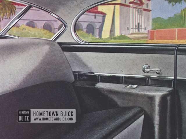 1952 Buick Interior