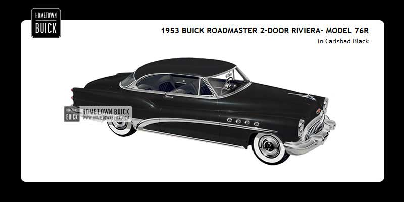 1953 Buick Coloring Tool