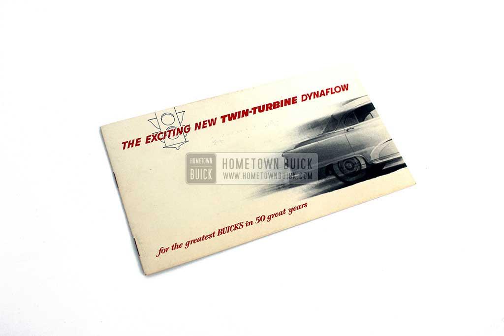 1953 Buick Dynaflow Transmission Brochure 01