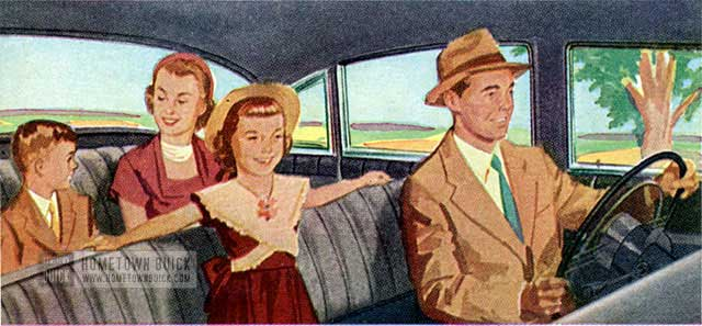 1953 Buick Interior