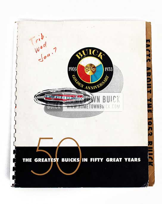 1953 Buick Press Release Kit