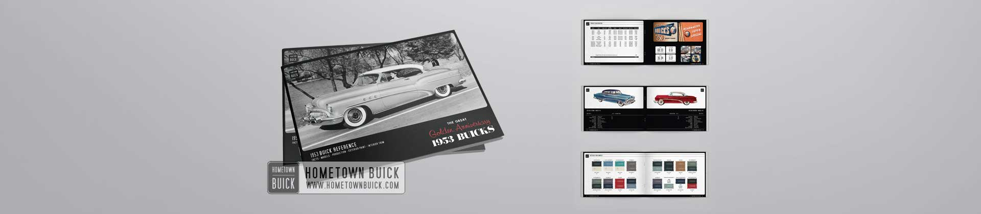 1953 Buick Reference Book