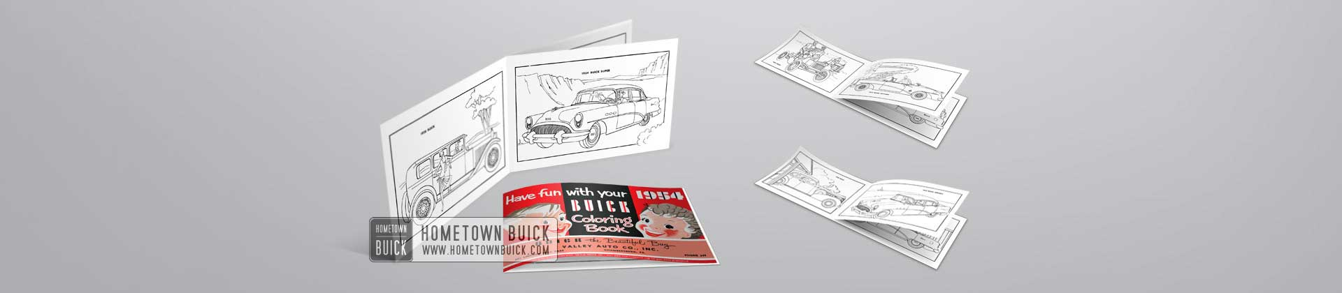 1954 Buick Coloring Book