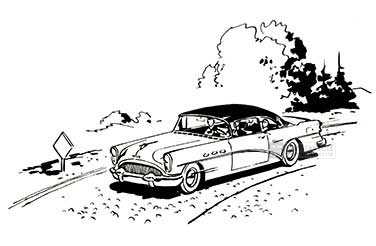 1954 Buick Power Steering Illustration 02