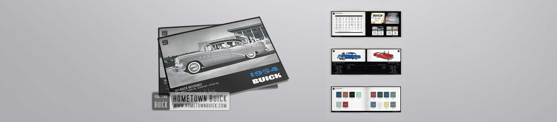 1954 Buick Reference Book