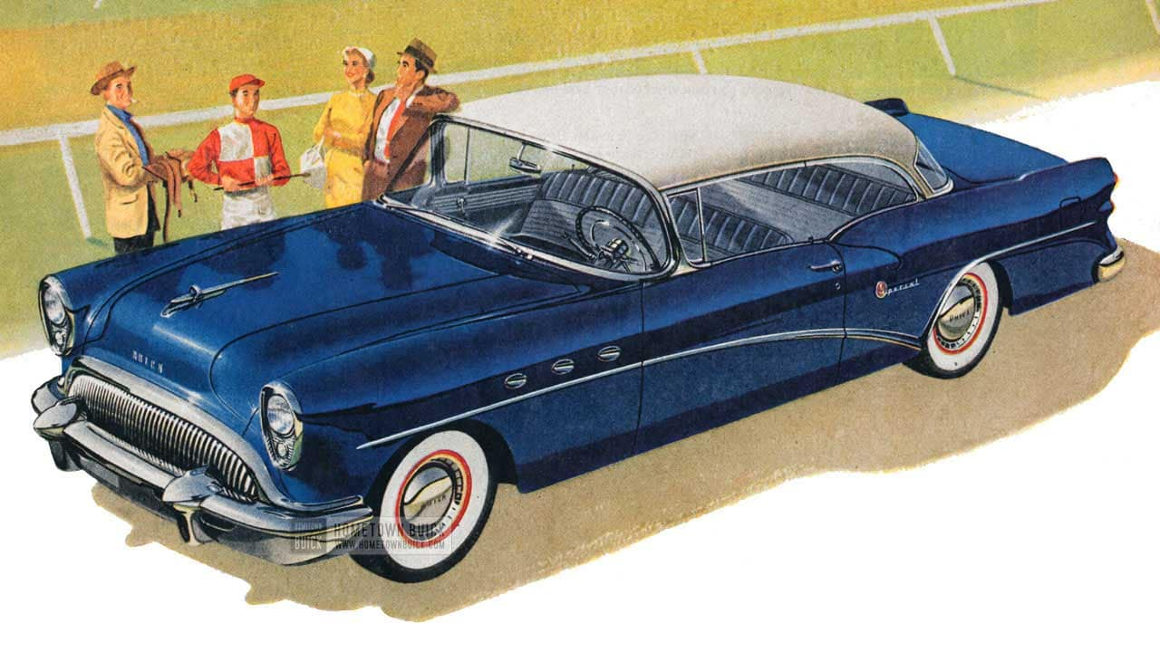 1954 Buick Research
