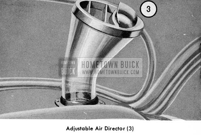 1955 Buick Air Conditioner Air Duct