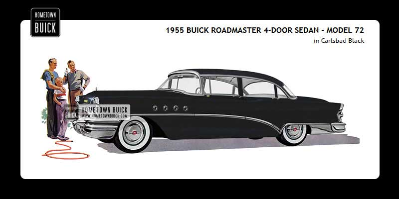 1955 Buick Coloring Tool