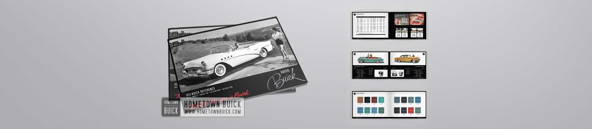 1955 Buick Reference Book Feature