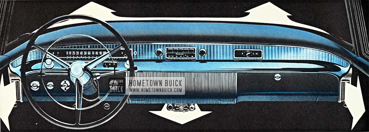 1956 Buick Heater & Defroster Outlets