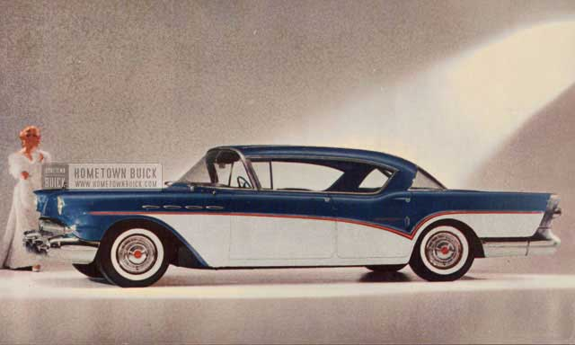 1957 buick production - hometown buick