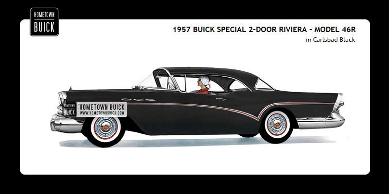 1957 Buick Coloring Tool
