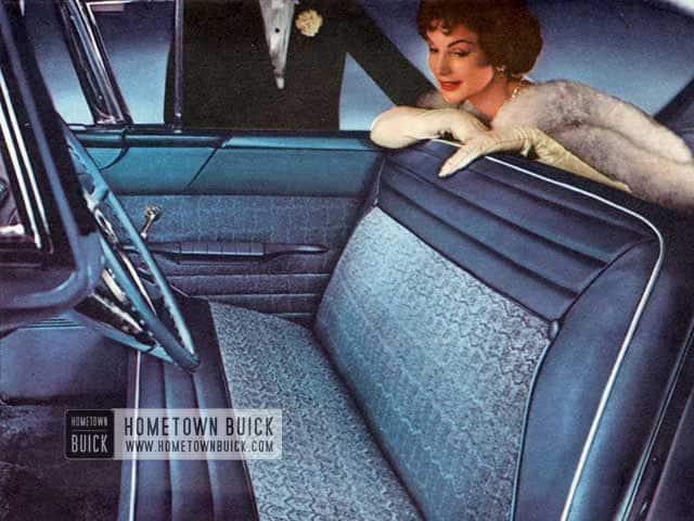 1957 Buick Interior