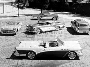 1957 Buick Production