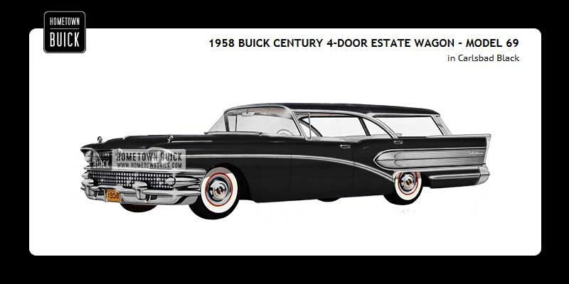 1958 Buick Coloring Tool