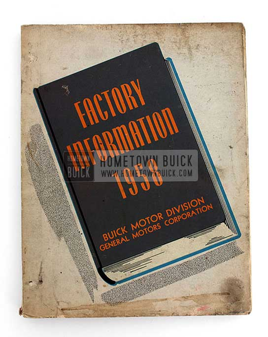 1958 Buick Factory Information Book 02 Vertical