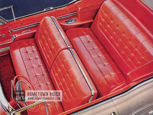 1958 Buick Interior