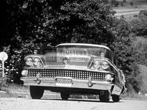 1958 Buick Production